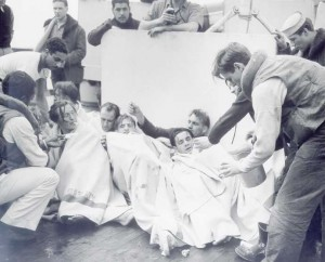 The Crew Of A Sinking U-Boat