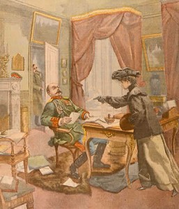 A General Assassinated In His Office By A Revolutionary