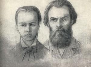 Sophia Perovskaya and Andrei Zhelyabov