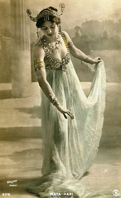 The 'exotic dancer', Mata Hari