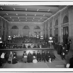 Passengers waiting at Grand Central Station